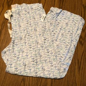 NWT Gap Pajama Pants